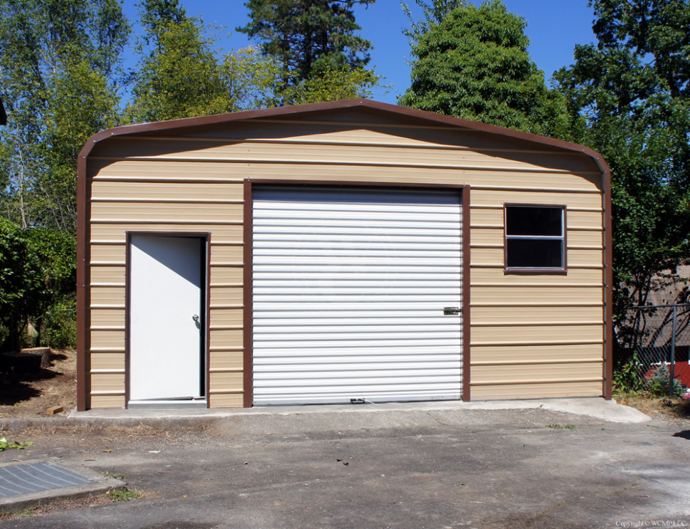 West Coast Metal Buildings | Garage C | Carports, Garages ..
