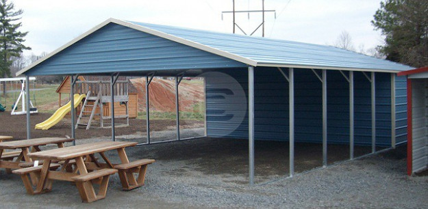 What Is The Difference Between A Flat Roof Metal Carport ..