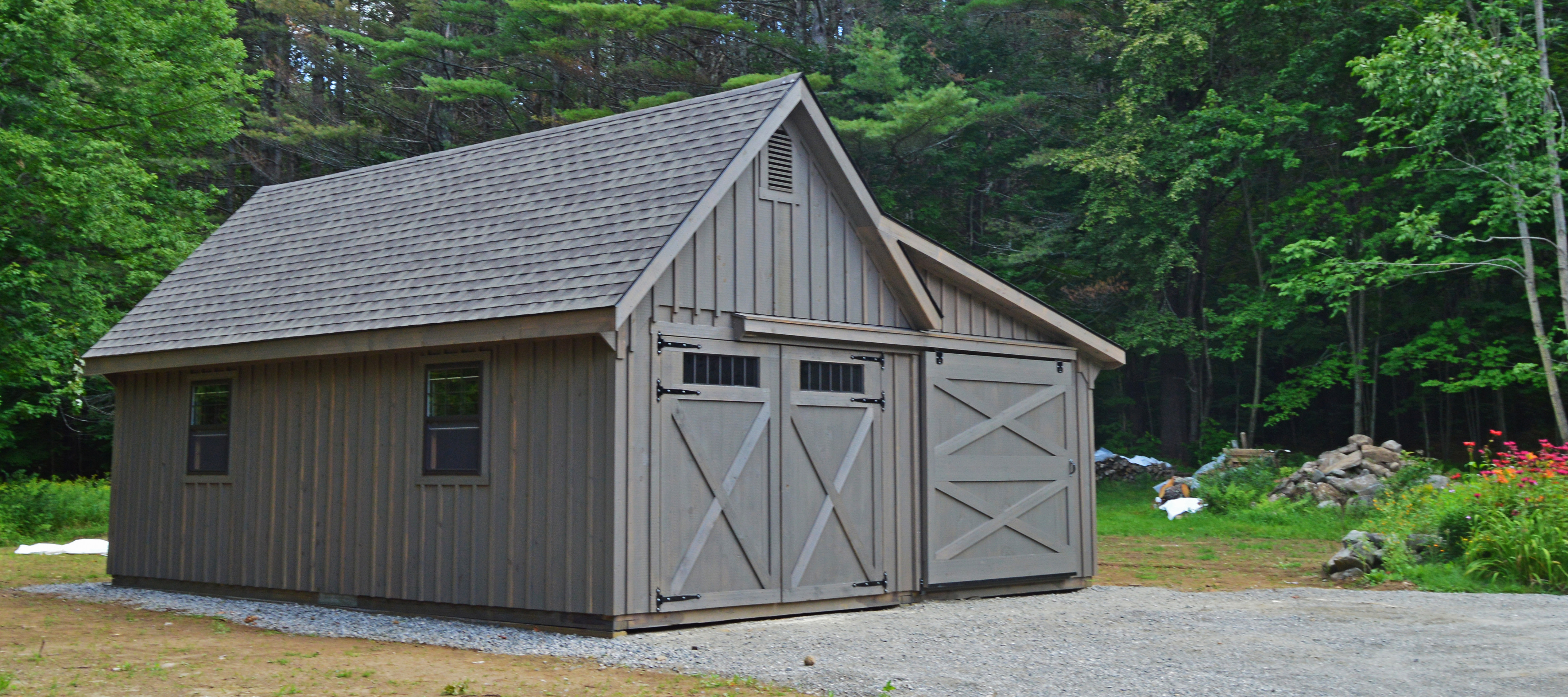 White River Garages Custom Barns And Buildings The ..