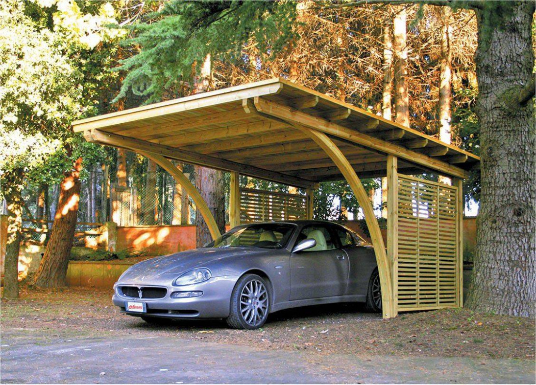 Why You Won't Regret Investing In A Durable Wooden Carport Wooden Attached Carport