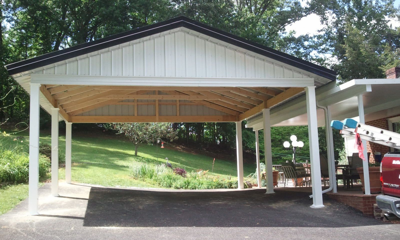 Wood Carport Ideas Mckinney Home Improvement Hd | Wood ...