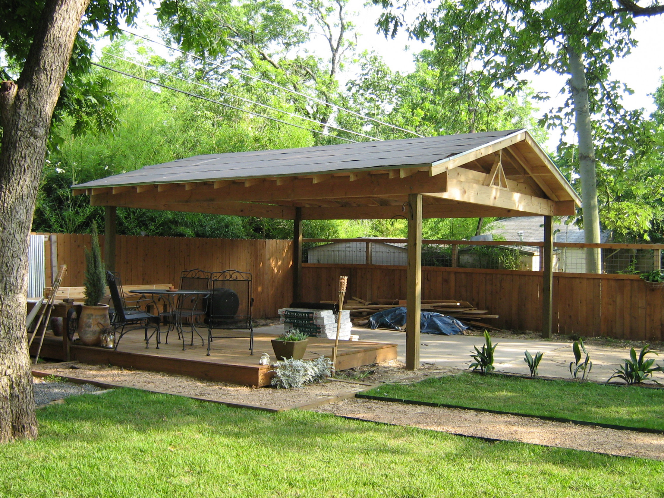 Wood Carports Country Home Design Ideas 3 Car Wooden Carports