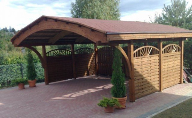 Wood Vehicle Gates, Pics | Nevada Double Wooden Carport ..