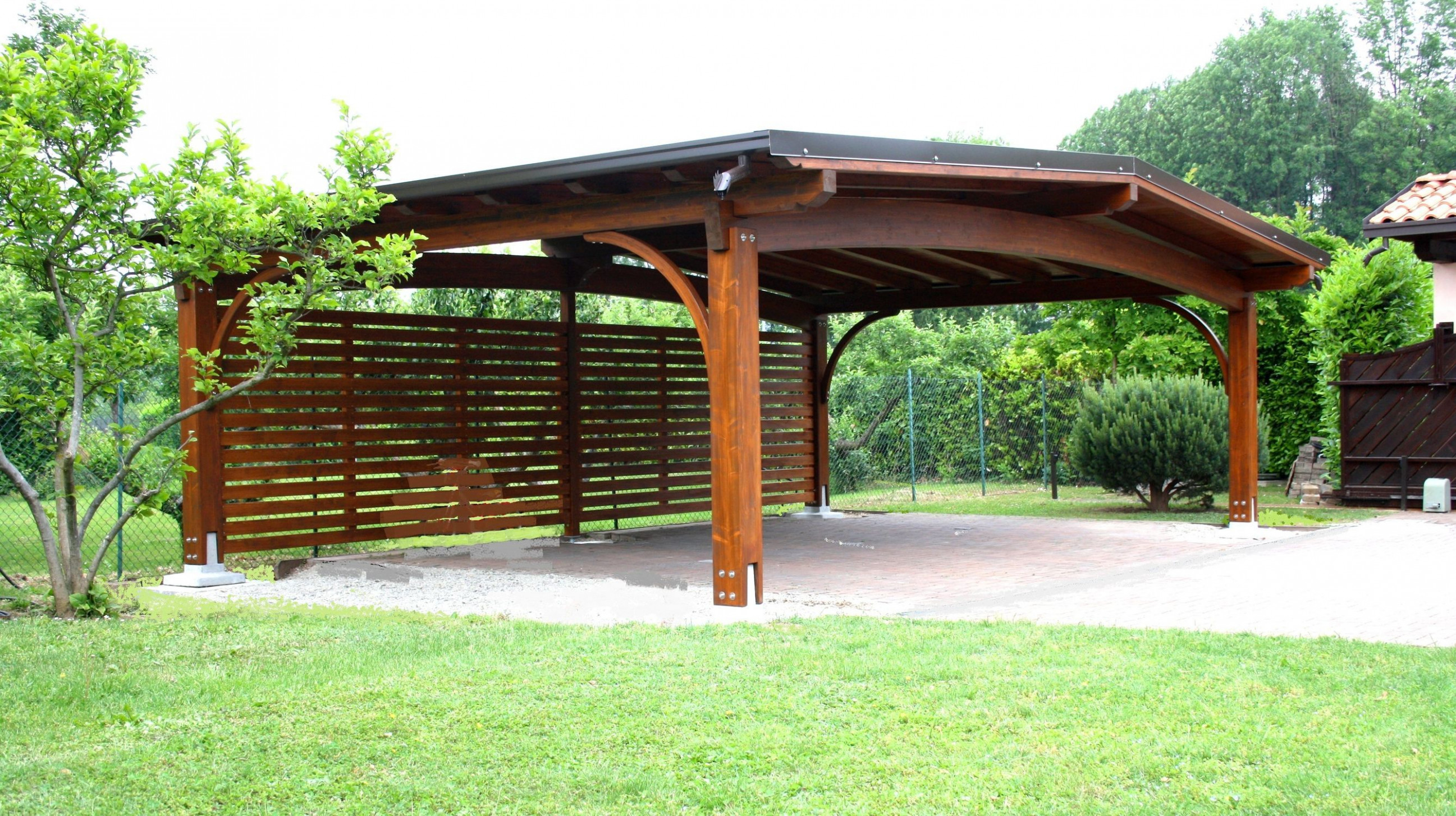 Wooden Carport ARCO Gazebodesign | Carport | Pergola ..