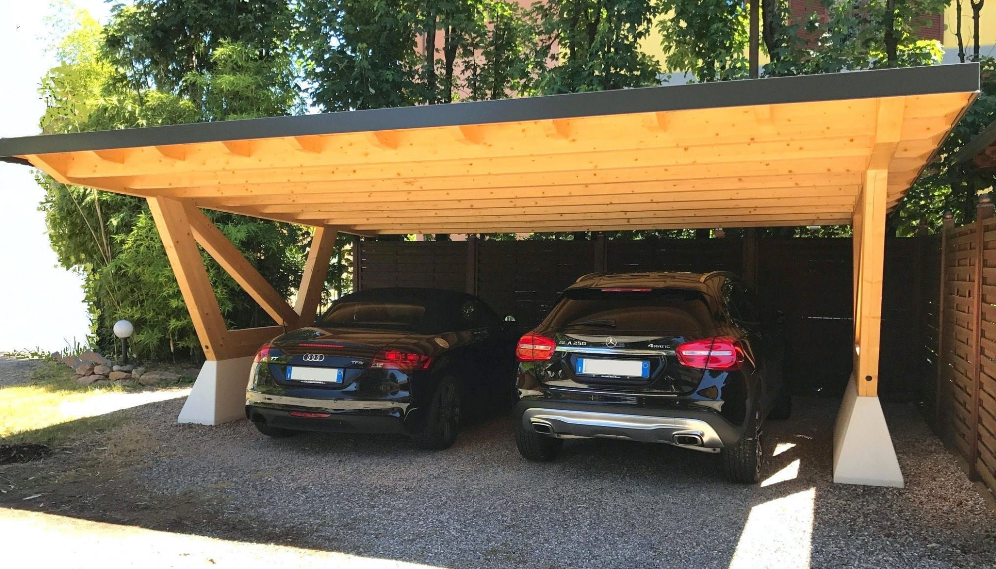 Wooden Carport ARCO Proverbio Outdoor Design | Gazebo ..