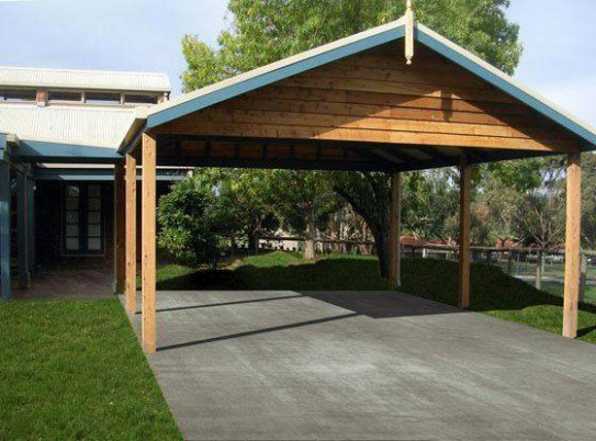 Wooden Carport Building: Helpful Tips How To Build A ..