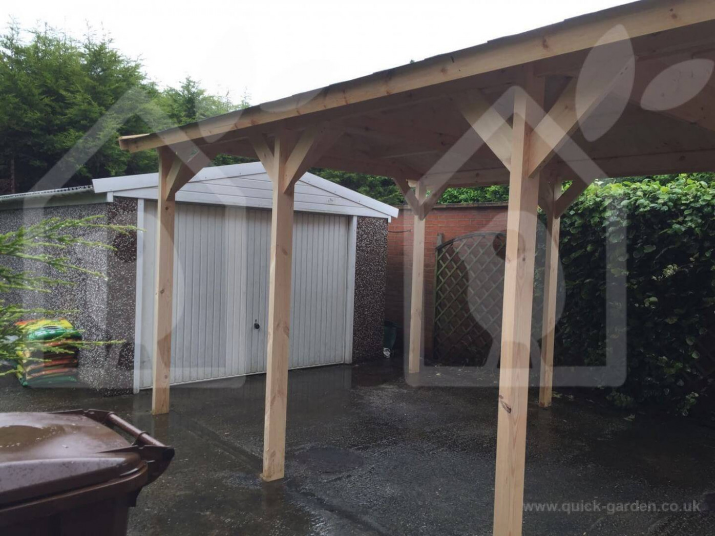 Wooden Carport Installation: How Much Time You Will Need To ..