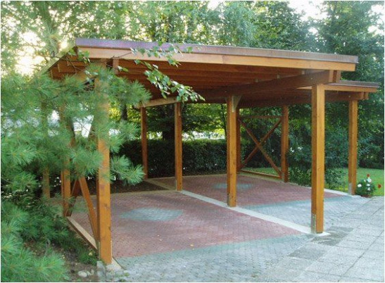 Wooden Carports Designs | Cedar Carport Kits Wood Carport ..