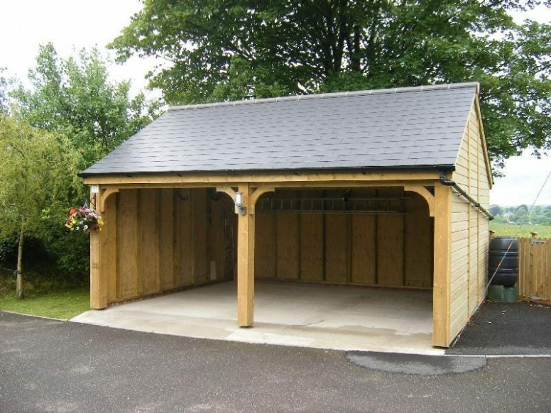 Wooden Carports In Devon By Shields Garden Buildings Wooden Carports Kits Uk