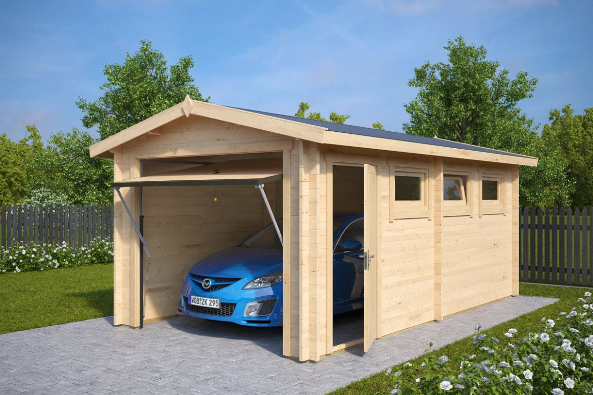 Wooden Garage: An Inexpensive And Stylish Haven For Your Car ..