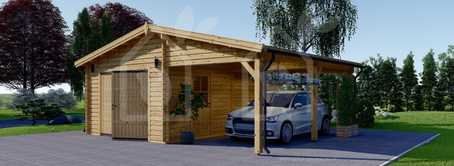 Wooden Garage Car Ports 9x9 99mm UK Carport Garage Requirements