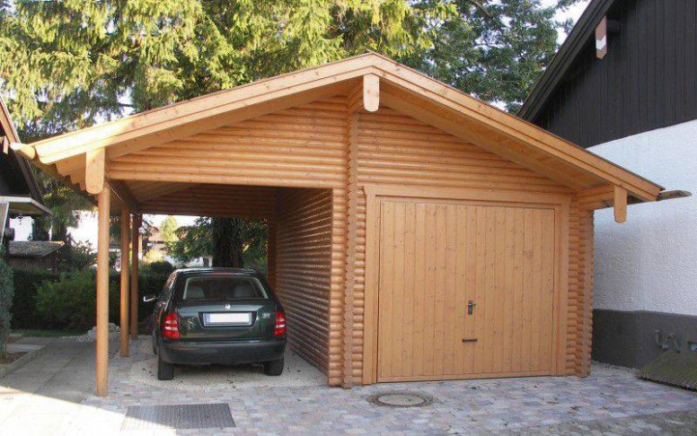 Wooden Garages: More Space To Your Home | Quick Garden Wooden Carports And Garages