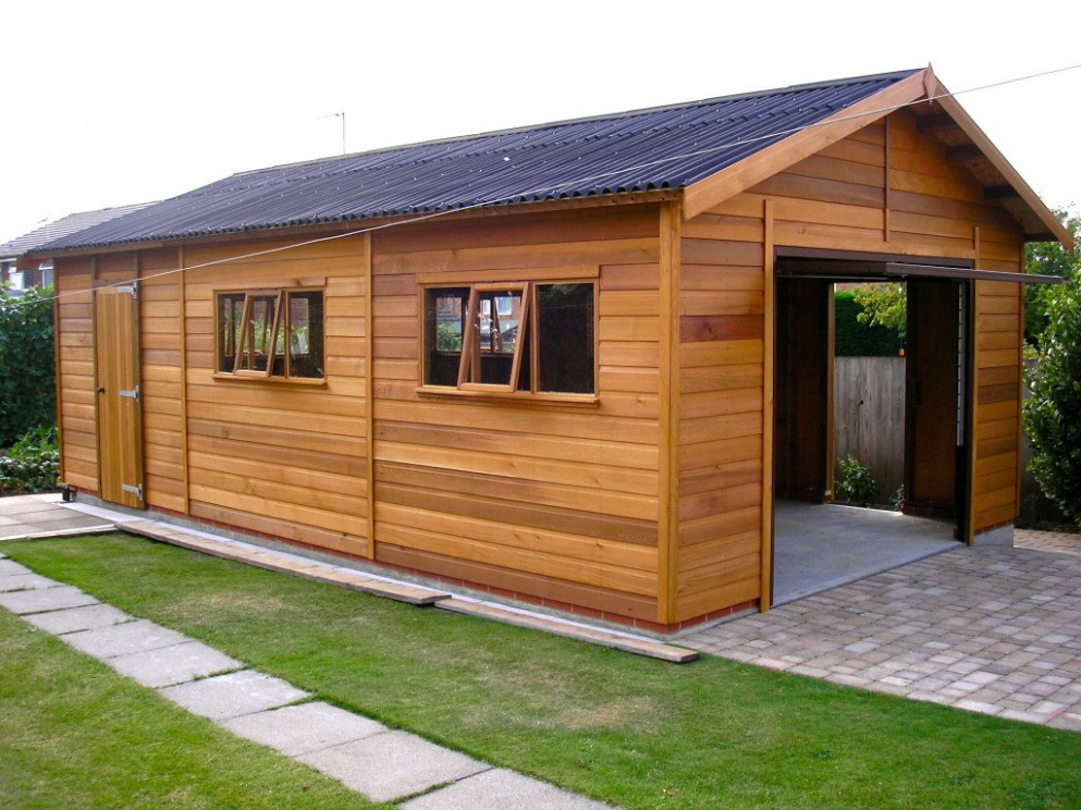 Wooden Garages UK, Timber Garages For Sale Tunstall ..