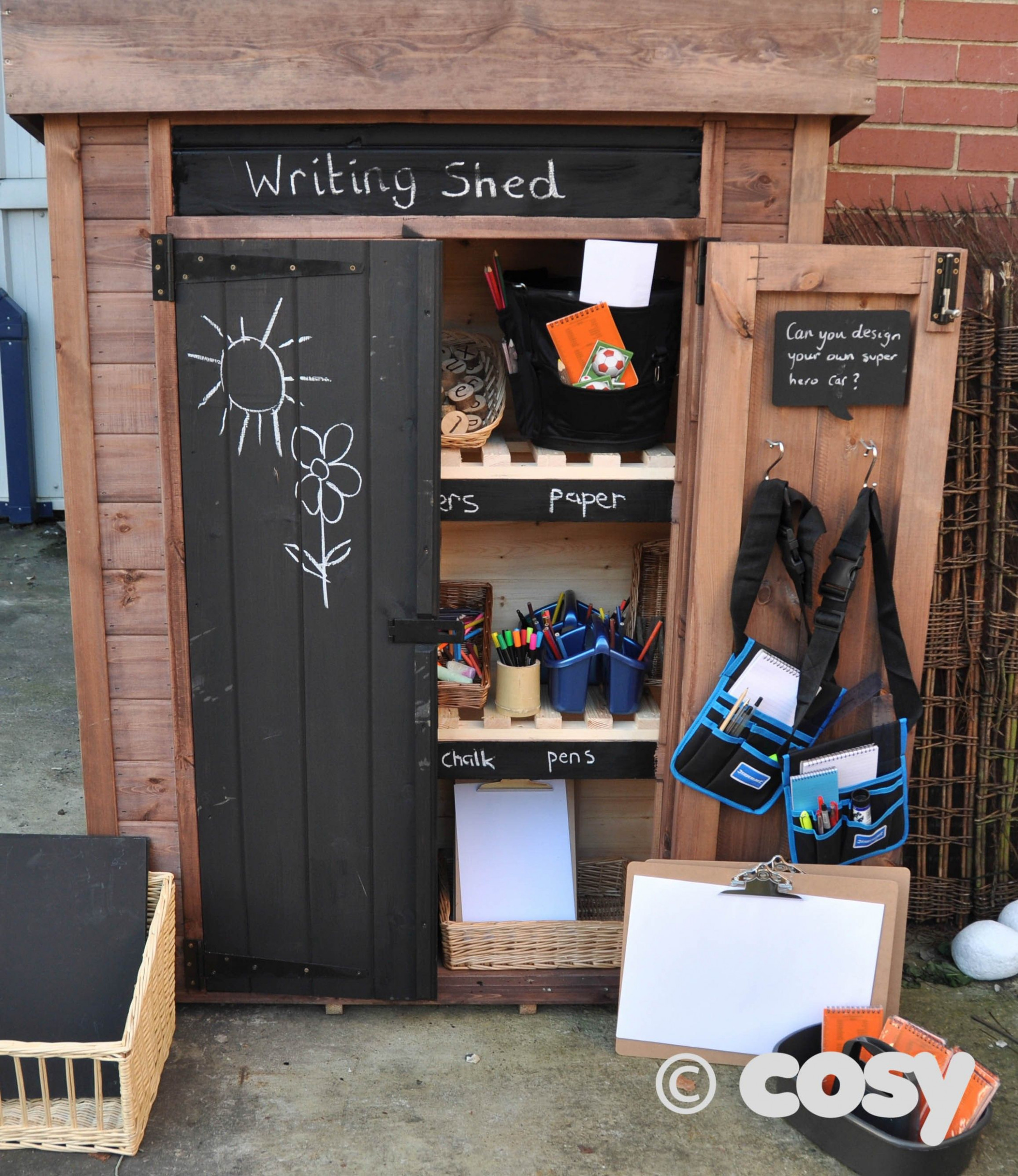 WRITING SHED INTERNAL KIT Cosy Direct … | Preschool ..