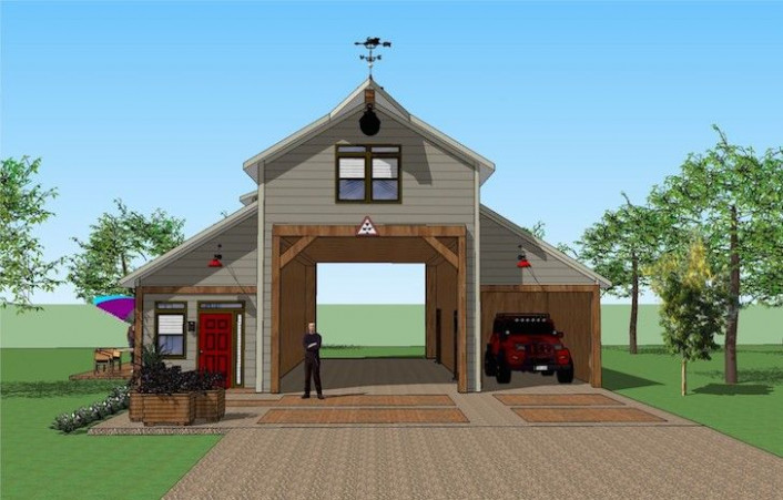You'll Love This RV Port Home Design. It's Simply ..
