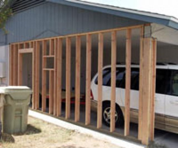 You Might Be Able To Convert Your Carport To An Enclosed ..