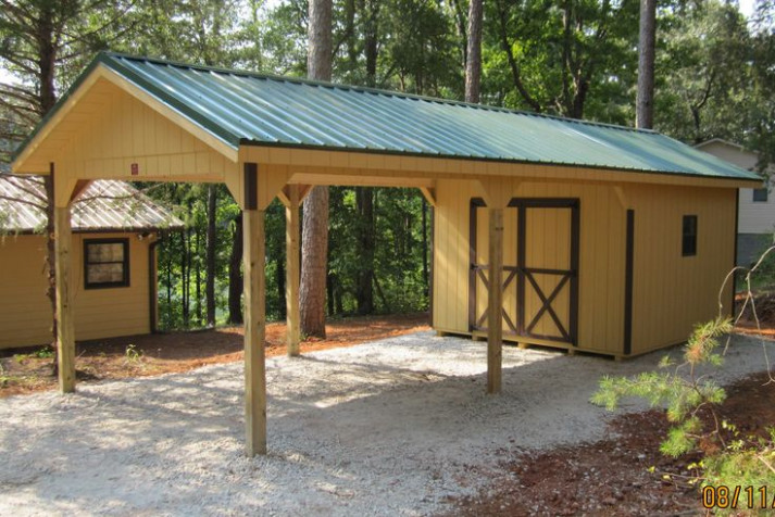 You Need A Car Port With A Shed Attached? :) Http://www ..