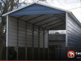 10′ X 10′ RV Cover With A Frame Metal Roof Carport Metal Roof Installation
