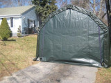 12'Wx20'Lx11'H Barn Wind/Snow Rated Portable Garage Top Rated Portable Carport
