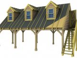 12 Bay Carport With Room Above Basic Kit (as Supplied Without ..
