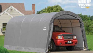 Shelterlogic 12x20x8 Round Auto Shelter Portable Garage Car Portable Carport.jpg