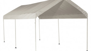 Shelter Logic 8 X 8 8m White Portable Carport With Six Legs Buy Portable Carport.jpg