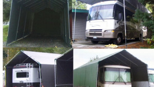 Make Your Own Portable Carport Shelter 4 Motorhome 5th How To Disassemble A Portable Carport.jpg