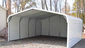 Enclosed Metal Carports Innovation Pixelmari Com 18 X 20 Enclosed Carport.jpg