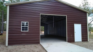 Enclosed Garage Customization Options Wholesale Direct Single Car Enclosed Carport.jpg