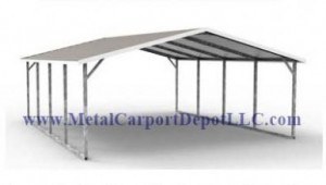 Metal Carport Metal Garage Sales Metal Carport Depot 12 X 30 Steel Carport.jpg