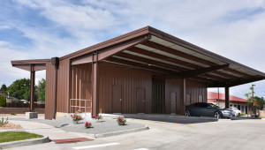 Metal Carports Covered Parking Roof Only Buildings Prefabricated Steel Carport.jpg