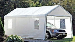 Car Canopy Lowes Carport Caravan Portable Garage 12 Interior Lowes Steel Carport.jpg