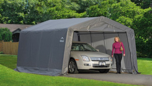 Carport Vs Garage What Should You Choose Shelterlogic Corp Shelterlogic Steel Carport.jpg