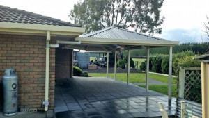 Steel Patio Cover Metal Lean To Carport Kits Attached Plans Free Steel Carport Plans.jpg