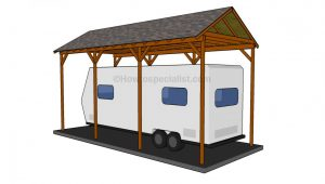 How To Build A Wooden Carport Howtospecialist How To How To Build Wood Carports.jpg