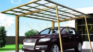 Polycarbonate Carport Aluminum Carports Car Parking Shade Portable Carport Philippines.jpg