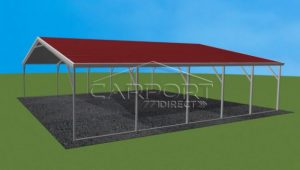 7×7 A Frame Roof Carport Enclosed Carport Pictures.jpg