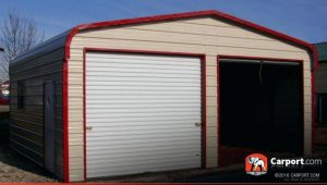 Home Improvement How Much Does A Two Car Garage Cost 2 Car Carport With Door.jpg