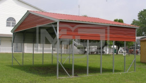 Carport Vertical Roof 26w X 21l X 10h Triple Wide Vertical Roof Carport.jpg