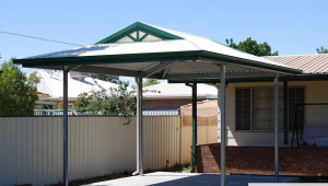 The Entertainer Dutch Gable Carport Fair Dinkum Sheds Sliding Carport Roof.jpg