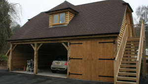 Timber Garages Ascot Timber Buildings Flat Roof Oak Carport.jpg