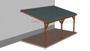 How To Build A Wooden Carport Howtospecialist How To How To Frame A Carport Roof.jpg