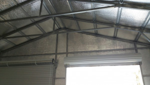 Insulated Metal Garage In Ohio American Steel Carports Inc Easy Way To Insulate Carport Roof.jpg