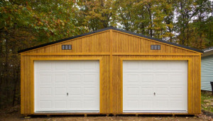Prefabricated Garage Garage Buildings For 9 Cars Or A Shop Prefab Wooden Carport.jpg