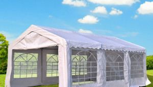 Outsunny 12x12ft Heavy Duty Outdoor Carport Wedding Party Tent Patio Event Gazebo Canopy With Sidewalls White Large Carport Canopy.jpg