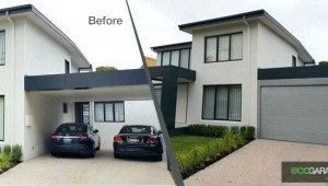 Turn Carport Into Garage Metal Storage Ideas For Lovely Convert Attached Carport To Garage.jpg