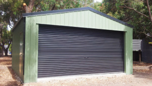 Steel Diy Garages Single Lock Up Double Garage Toowoomba Garage Carports Toowoomba.jpg
