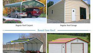 Metal Garages For Sale Free Installation Of Steel Garage Parking Type Carport.jpg