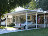 24' X 24' Wall Attached Aluminum Carport Kit (.032), Or ..