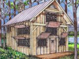 7×7 Queen Post Plan With Loft Timber Frame HQ Wooden Carport Framing Plans